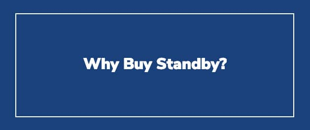 Why Buy Standby Power